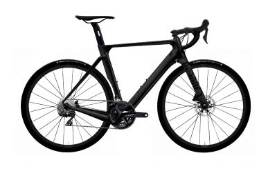 Rondo Hurt CF2 Road Plus Bike Shimano 105 Black Black