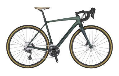 Scott Addict Gravel 30 dark green metalic chamo green