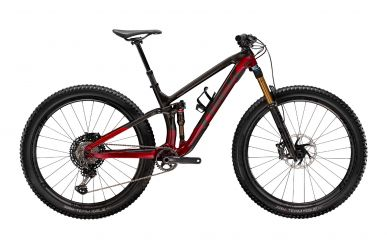 Trek Fuel EX 9.9 Shimano XTR Raw Carbon Rage Red