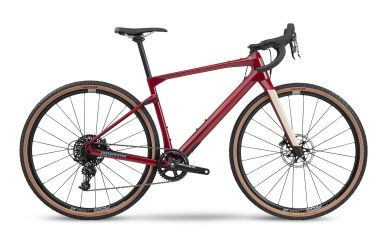 BMC UnReStricted FOUR Sram Apex 1, Cherry Red