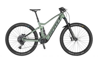 Scott Genius eRIDE 920 Iridium Green Black