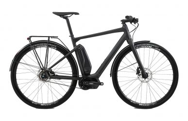 BMC Alpenchallenge AMP CITY TWO Shimano Nexus 5 E6100, Stealth
