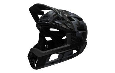 Bell Super Air R Mips Matte Gloss Black Camo