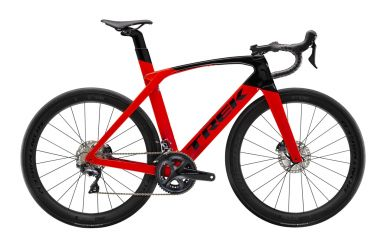 Trek Madone SL6 Disc Radioactive Red Trek Black