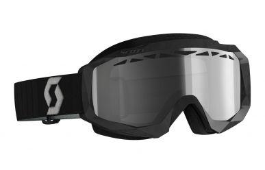 Scott Google Hustle X MX LS Enduro Brille mit automatsisch tönenden Gläsern Black Grey