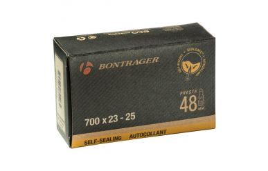 Bontrager Self-Sealing Presta Valve Bicycle Tubes Black