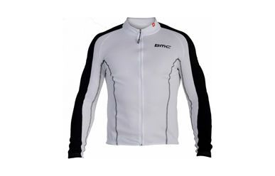 BMC langarm Trikot Freeride Low Black White