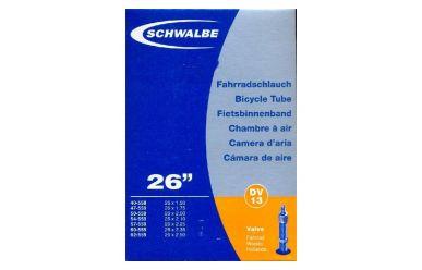 "Schwalbe DV13 Schlauch 26"" Blitzventil/ Dunlopventil long, 40 mm"