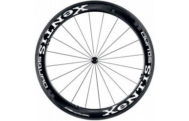Xentis Squad 5.8 SL Clincher Laufradsatz HG-Freilauf 9/10/11 Black Matt