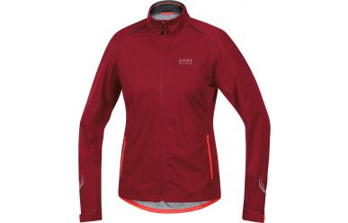 Gore Women GoreTex Active Shell Regenjacke Red Lumi Orange