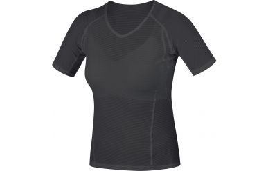 Gore Women Base Layer atmungsaktives Unterhemd Black