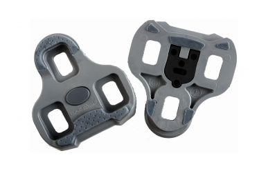 Look Keo Grip Pedalplatten mit Gummipads Grau 4,5 Grad Auslösewinkel