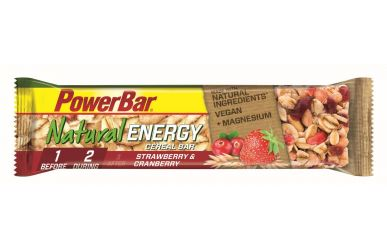 PowerBar Natural Energy Cereal Riegel 40g Erdbeer-Cranberry