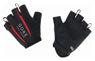 Gore Power 2.0 Handschuh Kurzfinger Black / Red