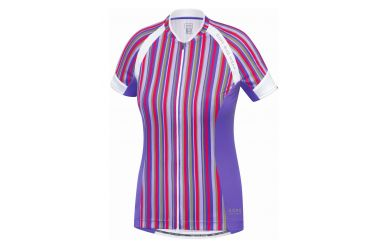 Gore Power SE Women Trikot Jazzy Pink Speed Blue