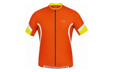 Gore POWER 2.0 Trikot, blaze orange/white,L