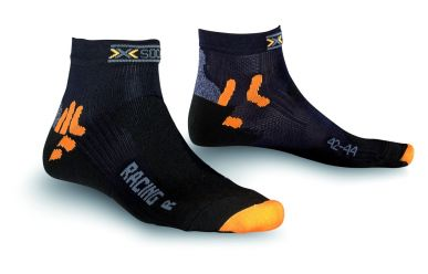 X-Bionic X-Socks Racing Bike Socken Black