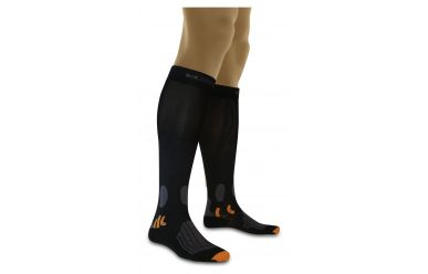 X-Bionic X-Socks Energizer Mountain Bike Socken leichte Kompression Black