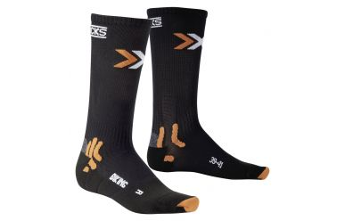 X-Bionic X-Socks Energizer Bike Socken mittelhohe Kompression Black