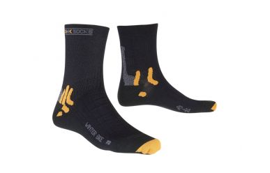 X-Bionic X-Socks Winter warme Bike Socken Black
