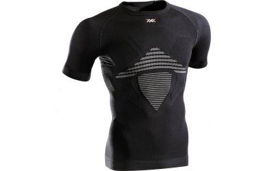 X-Bionic Energizer MK2 Light atmungsktives halbarm Unterhemd, leichte Kompression Black White