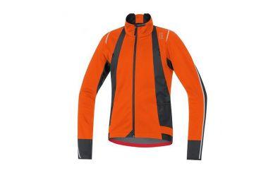 Gore OXYGEN Windstopper® Soft Shell Jacke, men, blaze orange/black,M