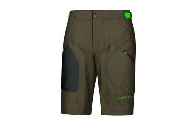 Gore Power Trail Short mit Polster Innenhose, Ivy Green