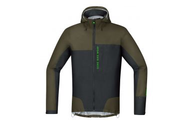Gore Power Trail Gore-Tex Active Jacke, men, ivy green/black,L