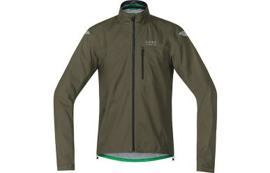 Gore GoreTex Active Shell Regenjacke Ivy Green