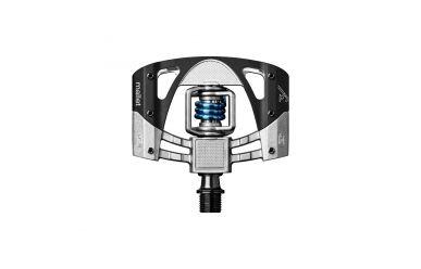 CrankBrothers Mallet 3 Plattformpedal inkl. Premium Cleats, schwarz/grau, Paar