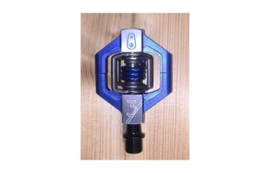 CrankBrothers Candy 3 Pedale inkl. Premium Cleats, Blau