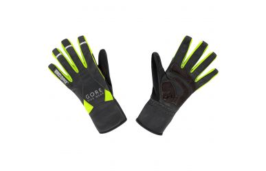 Gore UNIVERSAL WINDSTOPPER® Mid Handschuhe, black/neon yellow,11