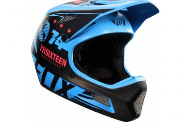 FoxHead Rampage Comp Helm Blue L
