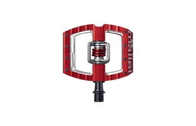 CrankBrothers Mallet DH/Race Pedalen  inkl. Premium Cleats rot