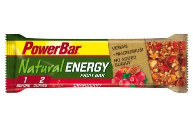 PowerBar Natural Energy Fruit & Nut Cranberry Riegel 40g