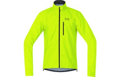 Gore GoreTex Active Shell Regenjacke Neon Yellow