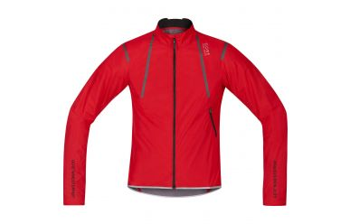 Gore OXYGEN WINDSTOPPER® Active Shell Light Jacke, men, red, M