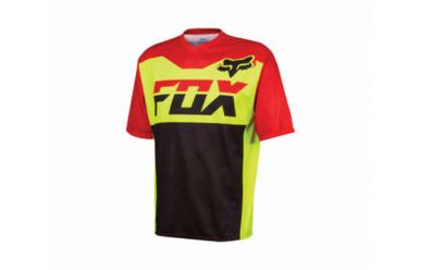 Fox Covert SS Trikot Flow Yellow