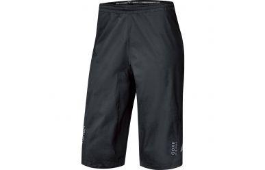 Gore GoreTex Paclite Shorts, Regenhose, atmungsaktiv Black