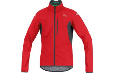 Gore Windstopper Active Shell Jacke Red Black