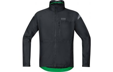 Gore GoreTex Active Shell Regenjacke Black