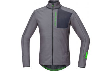 Gore Power Trail Thermo Langarm Trikot Asteroid Grey Graphite Grey