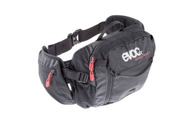 Evoc Hip Pack Race 3L + 1.5L Trinkblase Black