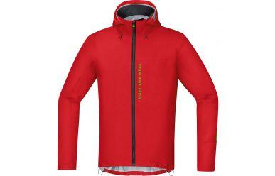 Gore Power 2.0 Windstopper® Soft Shell Jacke men, red/black XL