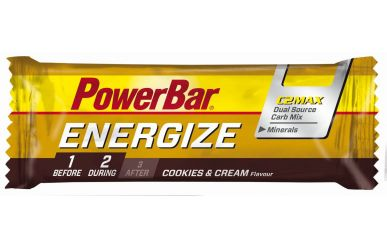 PowerBar Energize Riegel Cookies and Cream 55g