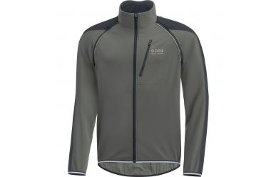 Gore Phantom Plus Windstopper Soft Shell mit abnehmbaren Ärmeln Castor Grey Black