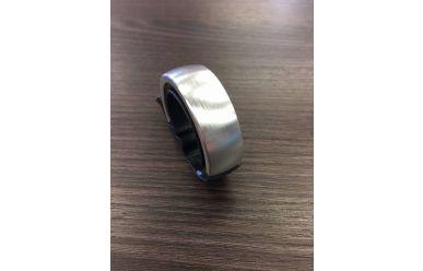 Knog Oi Fahrradklingel Black Silver 31,8mm