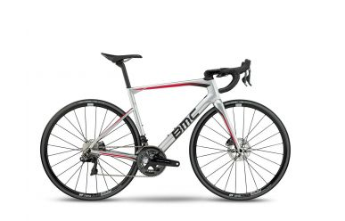 BMC RoadMachine RM01 LTD, Dura Ace Di2, DT Swiss Laufräder, Silver Red, 58cm