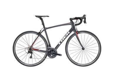 Trek Domane SL 5 Disc Solid Charcoal Viper Red 58cm