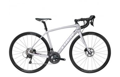 Trek Domane SL 5 Disc Womens Quicksilver Dnister Black 50cm